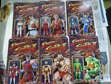 Super7 3.75 Retro Figures Set of 6 - Street Fighter (Regular/Standard Edition)