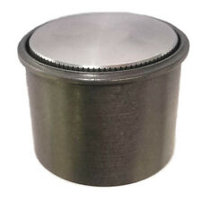 Rullo Mini Stealth Paintable Raw Aluminum Pop Up Gas Cap w/ Steel Weld in Bung