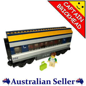 LEGO - Train Carriage & Minifig - from set #60197 - FREE POSTAGE !!