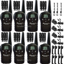 Midland Xtra Talk LXT118VP 8 Pack Set Two Way Radio Walkie Talkie GMRS 18 Mile