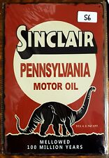 Sinclair Motor Oil Metal Tin Signs Bar Shed & Man Cave Signs AU Seller