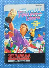 Euro Football Champ | Instruction Booklet | Spieleanleitung | Super Nintendo |