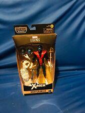 Marvel Legends X-Men Series Wendigo baf Nightcrawler with baf piece