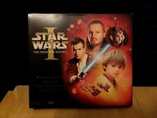 Star Wars The Phantom Menace Widescreen Video Collector's Edition VHS COMPLETE
