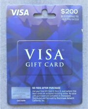 $200 GIFT CARD. ACTIVATED. FREE SHIPPING! No Fees. Exp: 01/2027