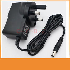 9V 500mA 0.5A Switching Power Supply adapter AC 100V-240V  DC 5.5mm x 2.1mm UK