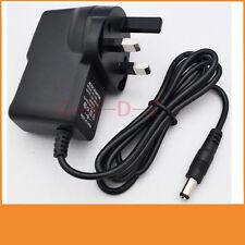 7.5V 500mA 0.5A Switching Power Supply adapter AC 100V-240V  DC 5.5mm x 2.1mm UK