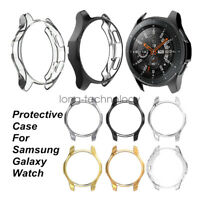 2pcs Soft TPU Protective Case Cover Frame For Samsung Galaxy Watch 42mm 46mm