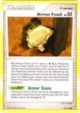 Armor Fossil Common Pokemon Card DP2 Mysterious Treasures 116/123