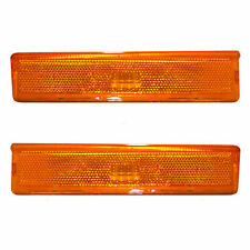 NEW SET PAIR SIDEMARKER LAMP 83-88 FORD RANGER 84-88 FORD BRONCO II [416X/418X]
