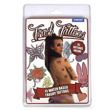 Bande-annonce Trash Faux Tatouages - Féminin
