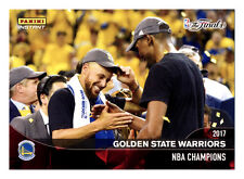 2016-17 PANINI INSTANT WARRIORS STEPHEN CURRY/KEVIN DURANT NBA FINAL CELEBRATION