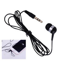 3.5mm Universal Single Side Headset In Ear Mono Wire Headphone Earphone Earbud