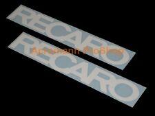"2x 8.5""21.6cm RECARO Decal Sticker Seat JDM D1 GTR EVO WRX DC EG EK race vinyl V"