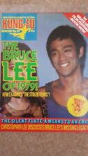 BRUCE LEE ,KUNG-FU MONTHLY MAGAZINE NO 52 VGC.