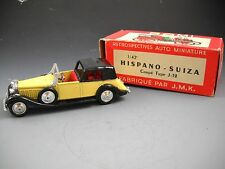 Rami for JMK 1934 HISPANO-SUIZA Coupe Type J19 CarRetrospectives Auto Miniature