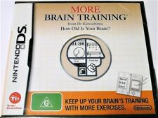 "MORE BRAIN TRAINING. DS / DSI / 3DS ""NEW SEALED"" AUZ SELLER"