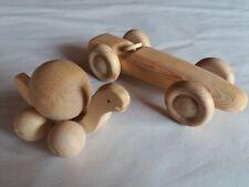 Holz Massageroller Körperroller Massage HANDARBEIT Auto & Schnecke