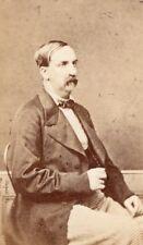 Duc de Montpensier Orleans Prince old CDV Photo 1860'