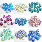 Lots 15Ppcs Color AB XILION ELEMENTS Crystal Glass Rivoli Loose Beads 14mm DIY
