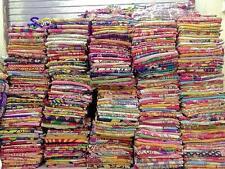 20 Pc Indian Kantha Quilt Handmade Vintage Bedspreads Cotton Ralli Throw Blanket