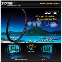 Zomei MC UV Filter HD Multi-Coated Camera Lens Protector 58/62/67/72/77/82mm