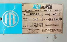 ITE UV322 60A 3ph 3W 240V XL-Universal Fusible Bus Plug