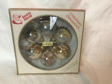 Vintage Santa's World Original Hummel Ornaments Box of 6