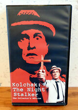 KOLCHAK: THE NIGHT STALKER VHS THE RIPPER & THE ZOMBIE Collector's Edition