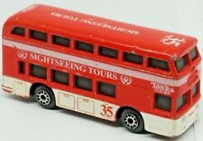 Sightseeing Tours Red Double-Decker Bus #35 Red Diecast 1999 Maisto Tonka Tours
