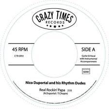 NICO DUPORTAL 45 - REAL ROCKIN' PAPA/MELANIE - GREAT R&B FROM FRANCE LISTEN!!