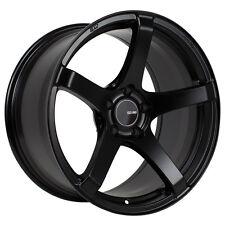 18 ENKEI KOJIN BLACK RIMS 18x8 +32 5x120 FITS: BMW 3-SERIES 328I 330I 335I Z3 Z4