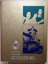 1980 LEES-MCRAE COLLEGE YEARBOOK, THE ONTAROGA, BANNER ELK, NC