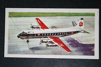 BEA   Vickers Viscount   Illustrated  Card  #  VGC