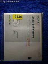 Sony Bedienungsanleitung DSC P43 /P41 Digital Still Camera (#3326)