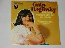 GABY BAGINSKY - Ich fang' soeben erst an zu leben  ########## LUISTER ##########