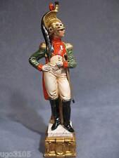 Soldato Porcellana di Capodimonte,Ufficiale Dragone,By Merli.Collez.Napoleonica