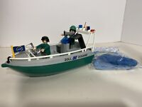 Playmobil Police Boat With Underwater Motor