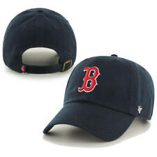 Boston Red Sox 47 Brand Navy Blue Clean Up Strapback Adjustable Dad Hat Cap