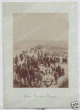 1093 FOTOGRAFIA ALBUMINA FINE 800 ABRUZZO PESCARA CATIGNANO - PIAZZA