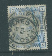 Queen Victoria SG183 Ten Shillings Blue r5689