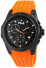 Fila Herrenuhr Chrono Kautschukarmband Orange 38-821-006 UVP 219,- €