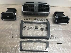 VW Polo 6R Lüftungsdüsen Komplett Dekor Set Blenden Zierleisten Trim 6RF819728