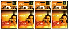 TDK RECORDABLE MINI DVD-R, 5 PACK x 4 (LOT of 20), CAMCORDER, COMPUTER WRITER