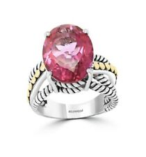 NEW! Effy Pink Topaz & Sterling Silver Ring / $800