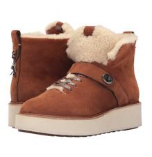 COACH Urban Hiker Boots, Saddle Natural, 7.5M