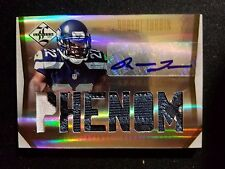 2012 Leaf Limited Robert Turbin Rc Auto Game Used Jersey Patch Seahawks #22/25