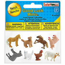 Ranch Fun Pack Mini Good Luck Figures Safari Ltd NEW Toys Educational Kids