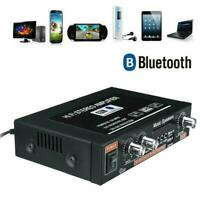 12V Mini 600W Bluetooth HiFi Stereo Verstärker Digital Audio Power Amplifier FM