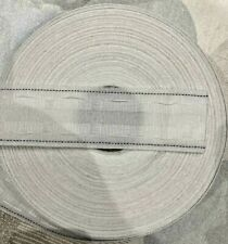 """2"""" 50mm Rufflette Curtain Pencil Pleat Header Tape Style Purchase By The Metre"""